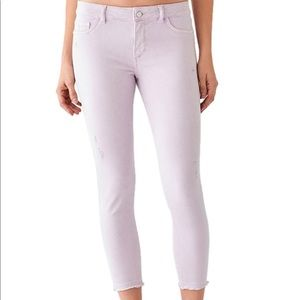DL1961 Florence Mid-Rise Skinny Cropped Jeans